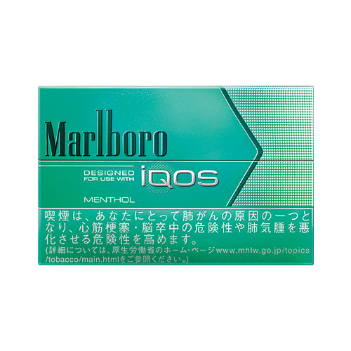 IQOS Menthol/Marlboro Heat Stick/1 Carton/Genuine product from Japan