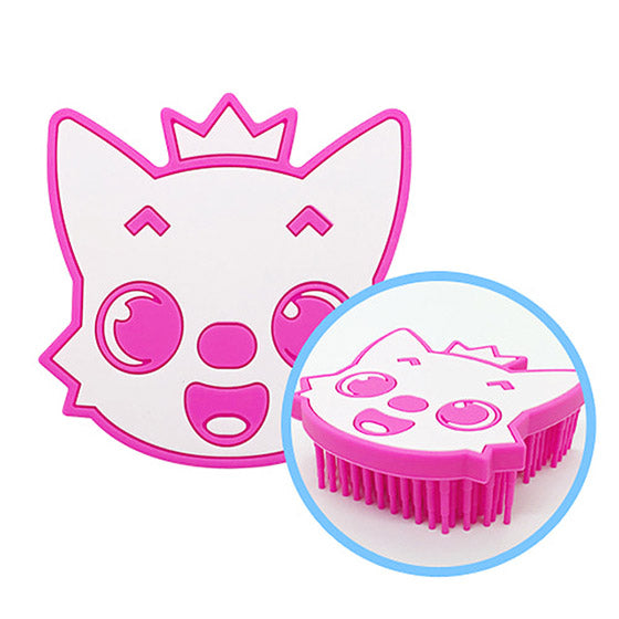 Silicon Shower Brush Pink