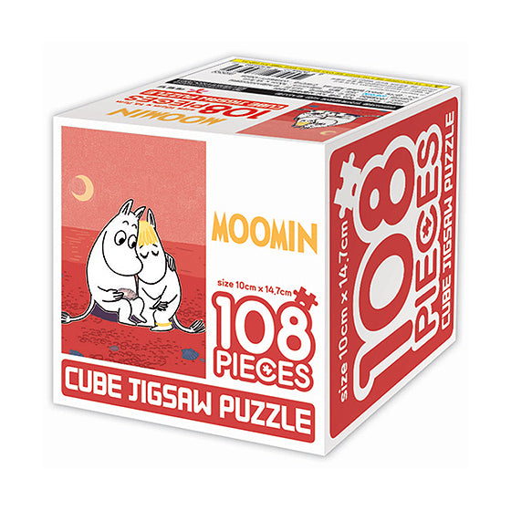 Moomin cube puzzle 108pcs-Lovers