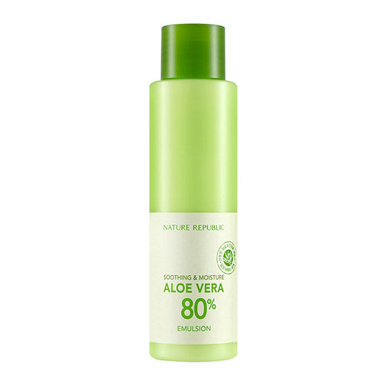 Soothing & Moisture Aloe Vera 80% Emulsion 160ml