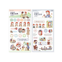Anne of Green Gables Transparent Sticker ver2