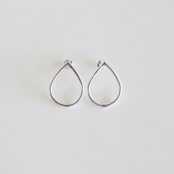 [Silver925] Water drop earring