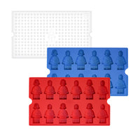 Block Silicone Mold with Cover (Mini)