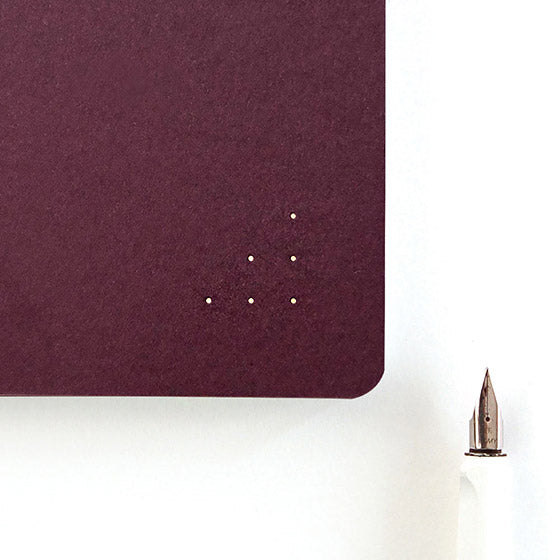 A5 Bookbinding Dotted Notebook 'R'