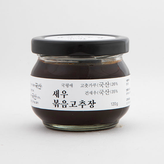 Stir-Fried Red Pepper Paste Made with Dried Shrimp 120g