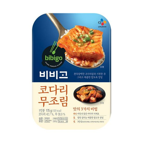 [bibigo] Korean Kodari Radish Boiled Down In Soy Sauce 175g