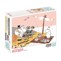 Moomin Jigsaw puzzle 150pcs-Pirate and a raft