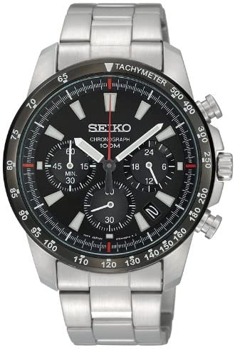SEIKO watch chronograph SSB031PC Men