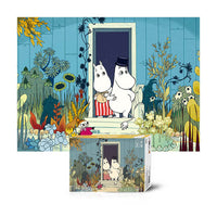 Moomin Jigsaw Puzzle 500pcs Moomin couple in flower garden