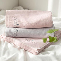 Bamboo Terry Square Bath Towel 3 Set