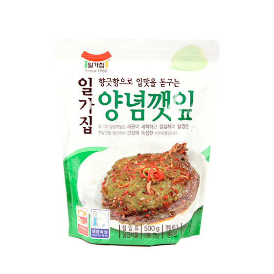 Sesame Leaves in Soy Sauce 500g