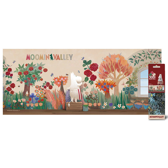 Moomin Fancy Puzzle 300pcs Paint imagination(MN-P300-502)