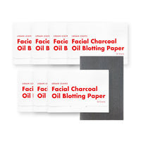 Charcoal Oil Blotting Paper 50sheets 4pack (paper case)