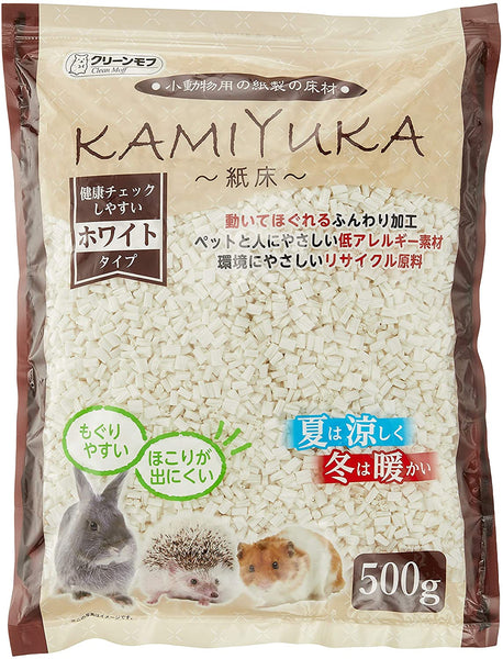 KAMIYUKA Flooring for Small Animals, White 17.6 oz (500 g)