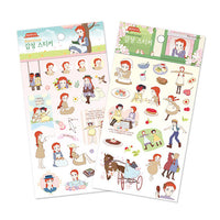 Anne of Green Gables Emotional Sticker