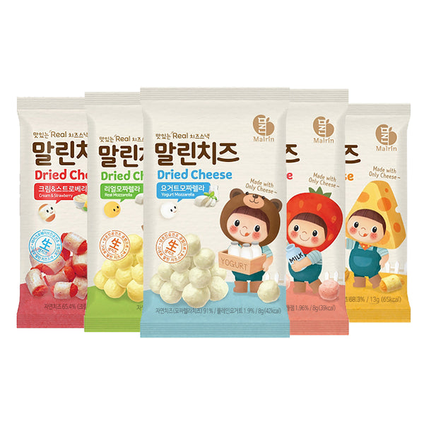 Dried Cheese Snacks 15 Packs