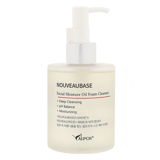 NOUVEAUBASE Facial Moisture Oil Foam Cleanser