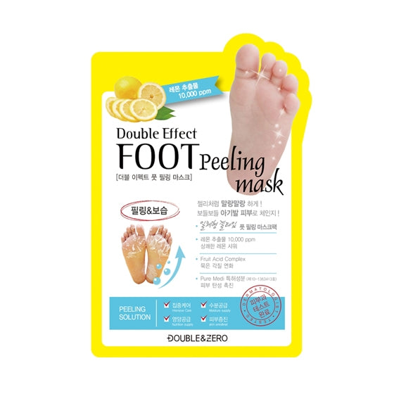 Double Effect Foot Peeling Mask, 10 count