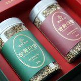 Black Herbal Tea Gift Set