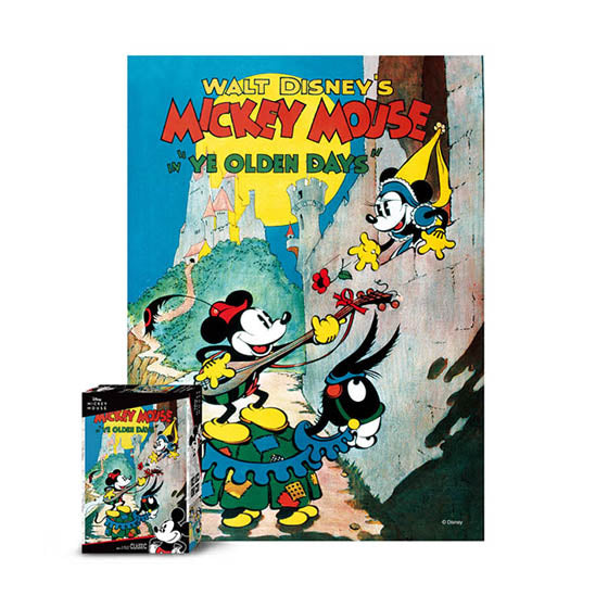 Disney Jigsaw Puzzle 500pcs Mickey's propose(D-A05-018)