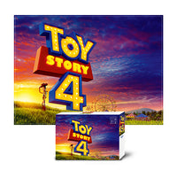 Disney 800pcs Toy Story 4 Glow with the setting sun a hill