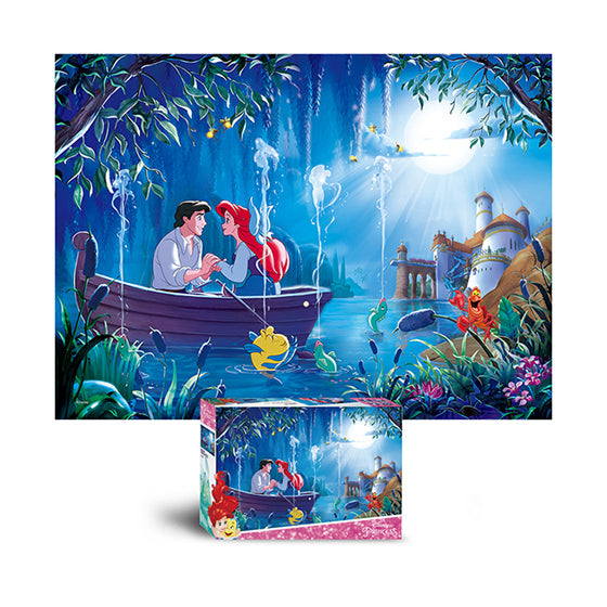 Disney Jigsaw Puzzle 500pcs Waltz under the moonlight(D-A05-022)
