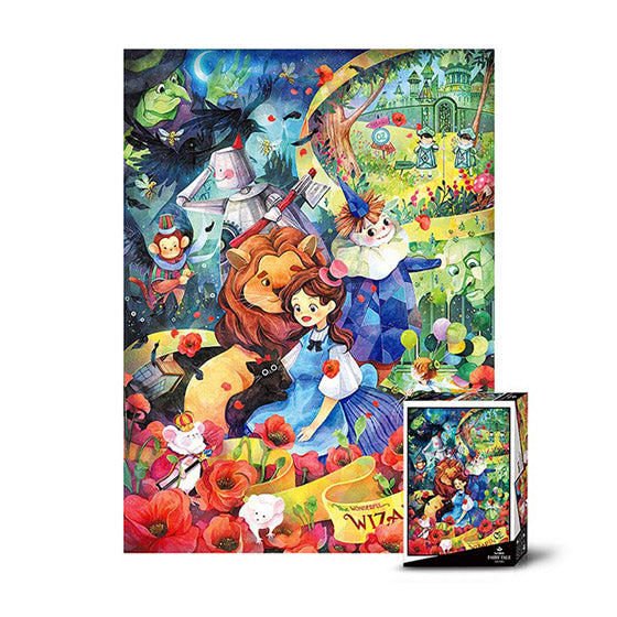 The Wonderful Wizard of Oz Jigsaw Puzzle 500pcs(D-A05-026)