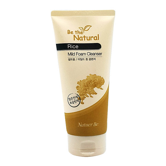 Nature Be Be The Natural Rice Mild Foam Cleanser 180ml