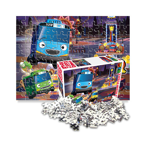 Tayo the Little Bus Jigsaw Puzzle 100pcs Opening at night