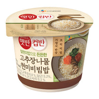 Hetbahn Cupbahn Rice with Vegetables (Bibimbap) 229g