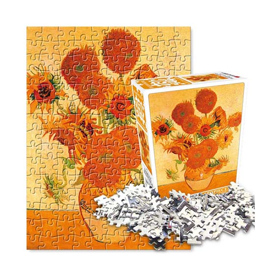 Famous paintings Jigsaw Puzzle 150pcs Helianthus or Sunflower