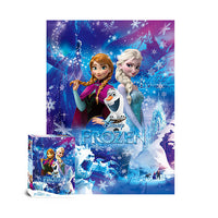 Frozen Jigsaw Puzzle 800pcs Metal Hologram(D-A08-023)