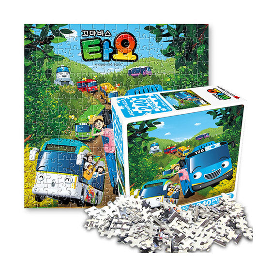 Tayo the Little Bus Jigsaw Puzzle 240pcs Spring picnic