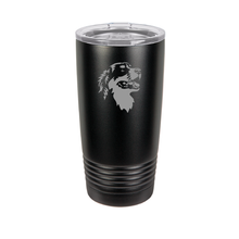 Load image into Gallery viewer, Custom Engraved Bernese Mountain Dog Tumbler.