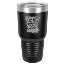 Load image into Gallery viewer, American Bulldog Custom Engraved Tumbler