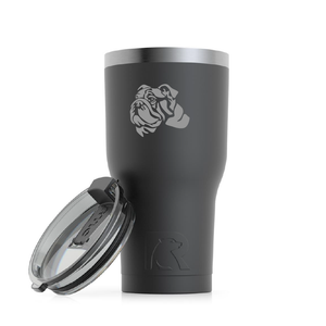 English Bulldog Custom Engraved Tumbler