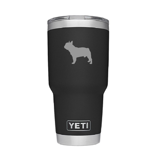 French Bulldog Custom Engraved Tumbler