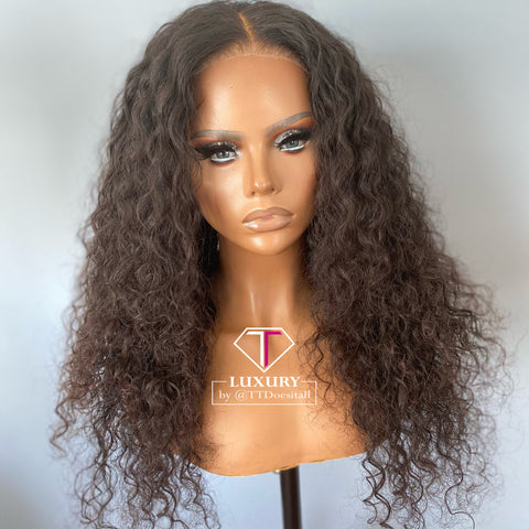 "Luxury Lace Closure Wig (20"" 18"" 16"")"