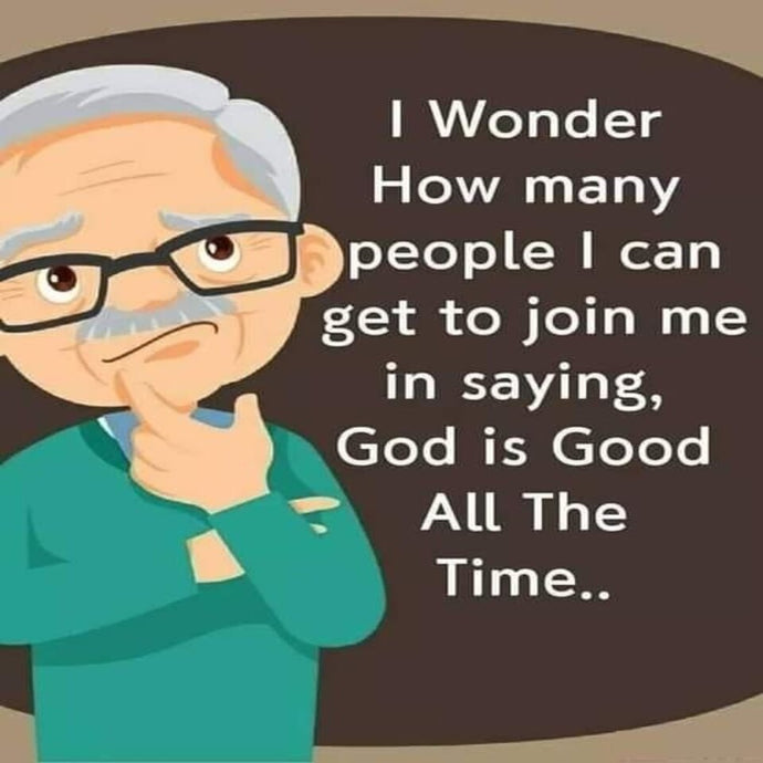 Amen god is good all the time