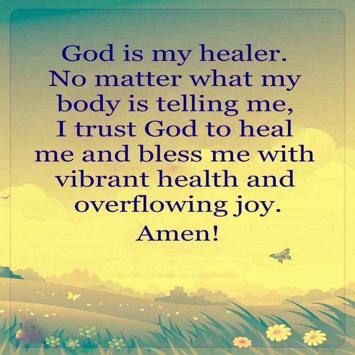 Truly, God is our healer.