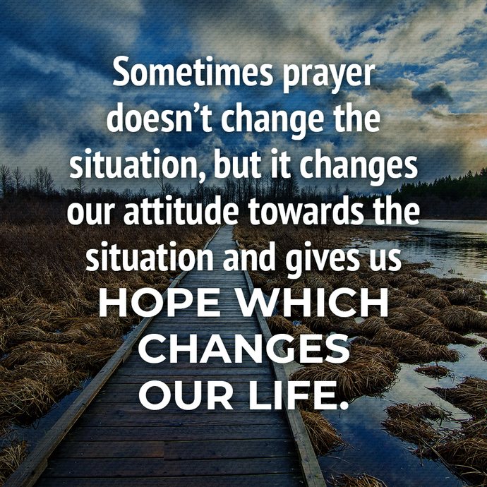 hope changes our life