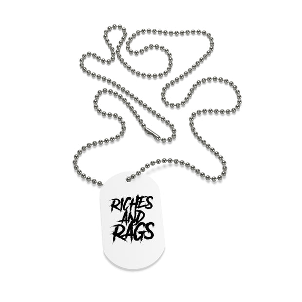 Riches & Rags Dog Tag
