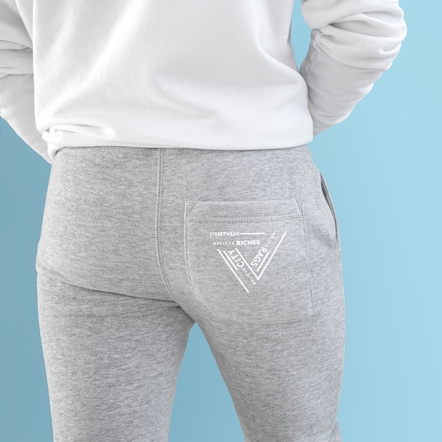 R&R  Fleece Tri Star Joggers
