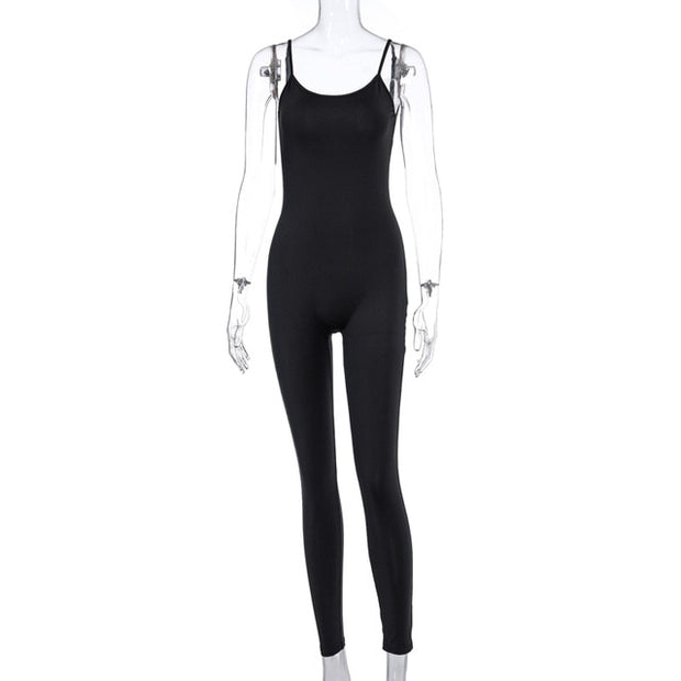 Women long jumpsuit bodycon Riches & Rags/DopeHouzz