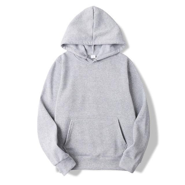 Solid Color Casual Hoodies