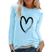I Heart Long Sleeve  T-shirt Riches & Rags