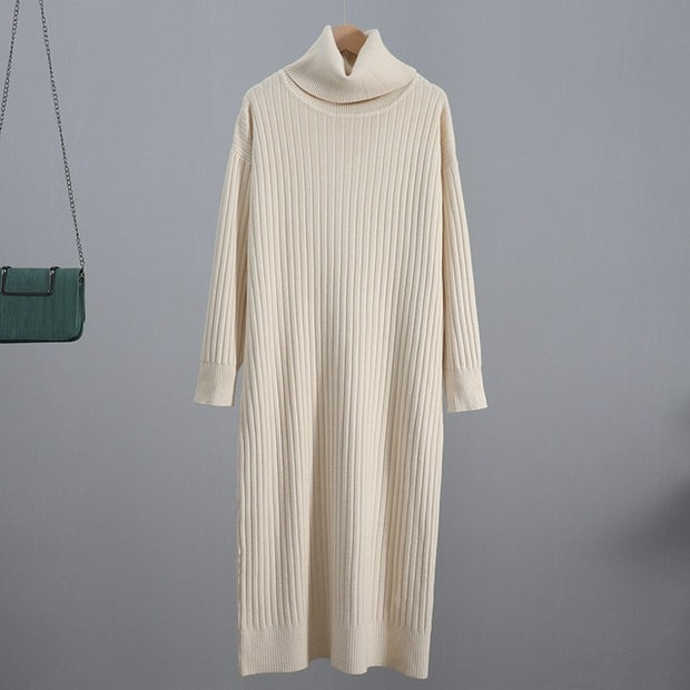 Midi Ribbed Dress