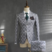 Unique Print  Business Suit