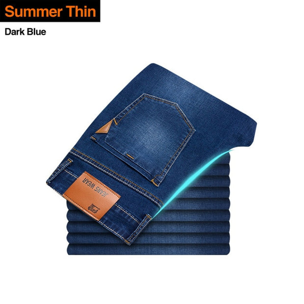 Casual Stretch Slim Jeans
