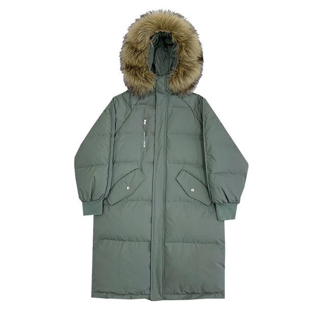 Riches & Rags Ladies TrAp TrAp Cotton Puffy Jacket long